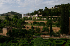 Generalife from the bedroom window