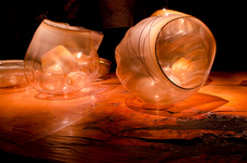 Chihuly basket forms