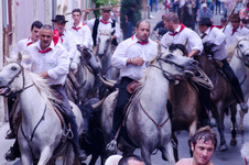 Running the bulls in Arles