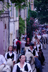 Running the bulls in Arles