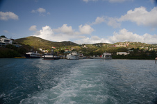 Leaving St John