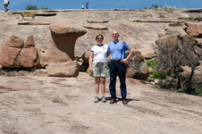 P&P on Enchanted Rock