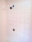 Bathroom tile, 1 wall of three