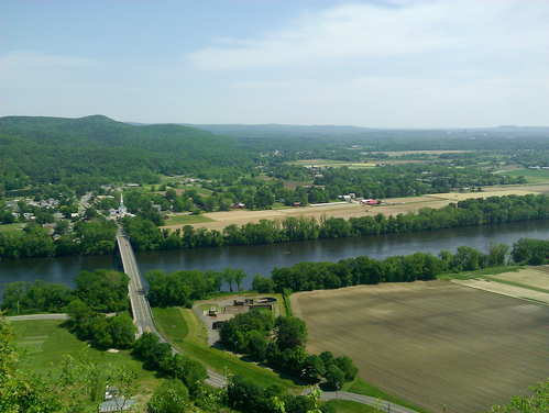 View from Mt Sugarloaf