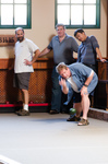 MarkLogic Engineering plays Bocce