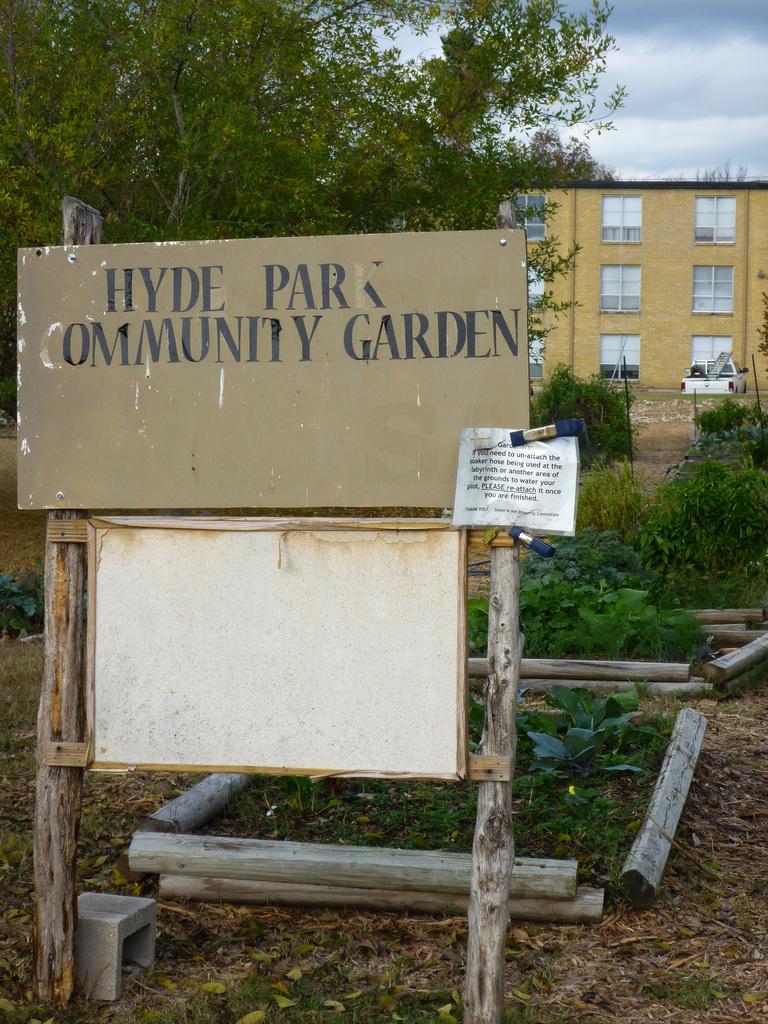 Hyde Park Community Garden