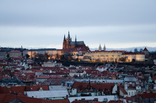 Prague Castle from the Tower