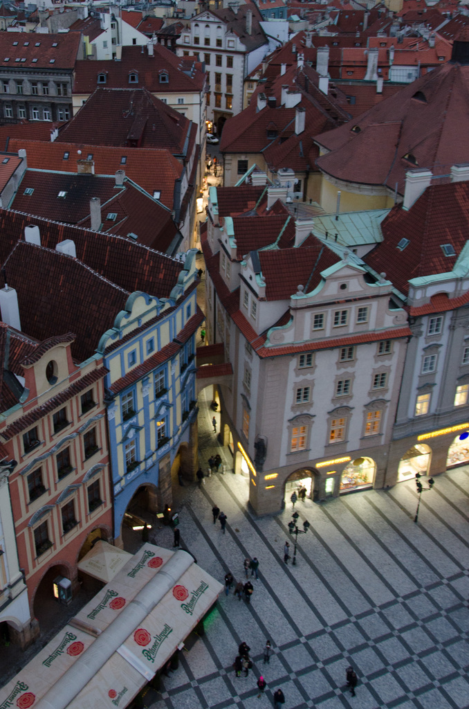 Views of Prague from the Tower