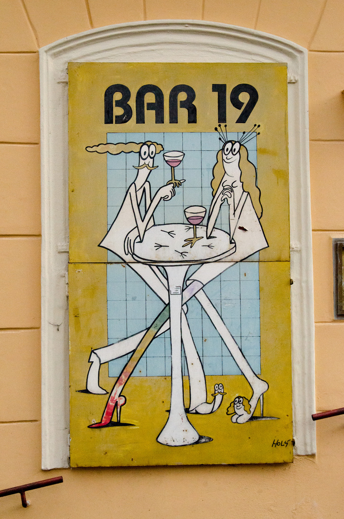 Bar 19. What's up with my foot?