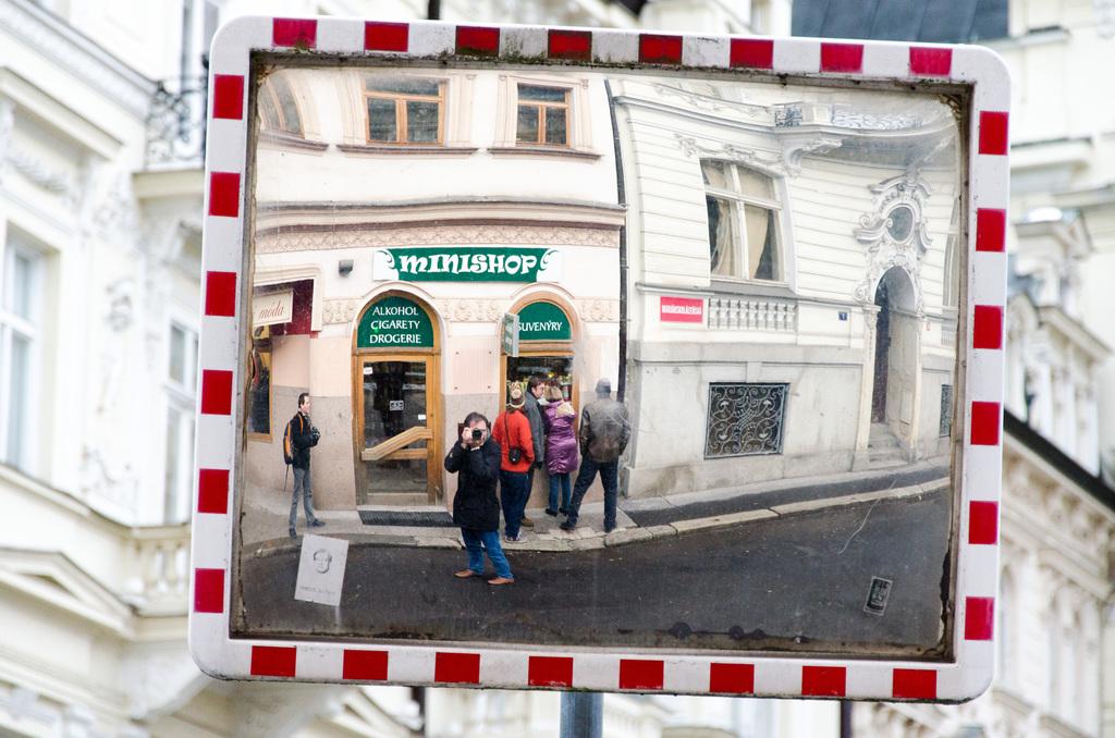 Self portrait in Karlovy Vary