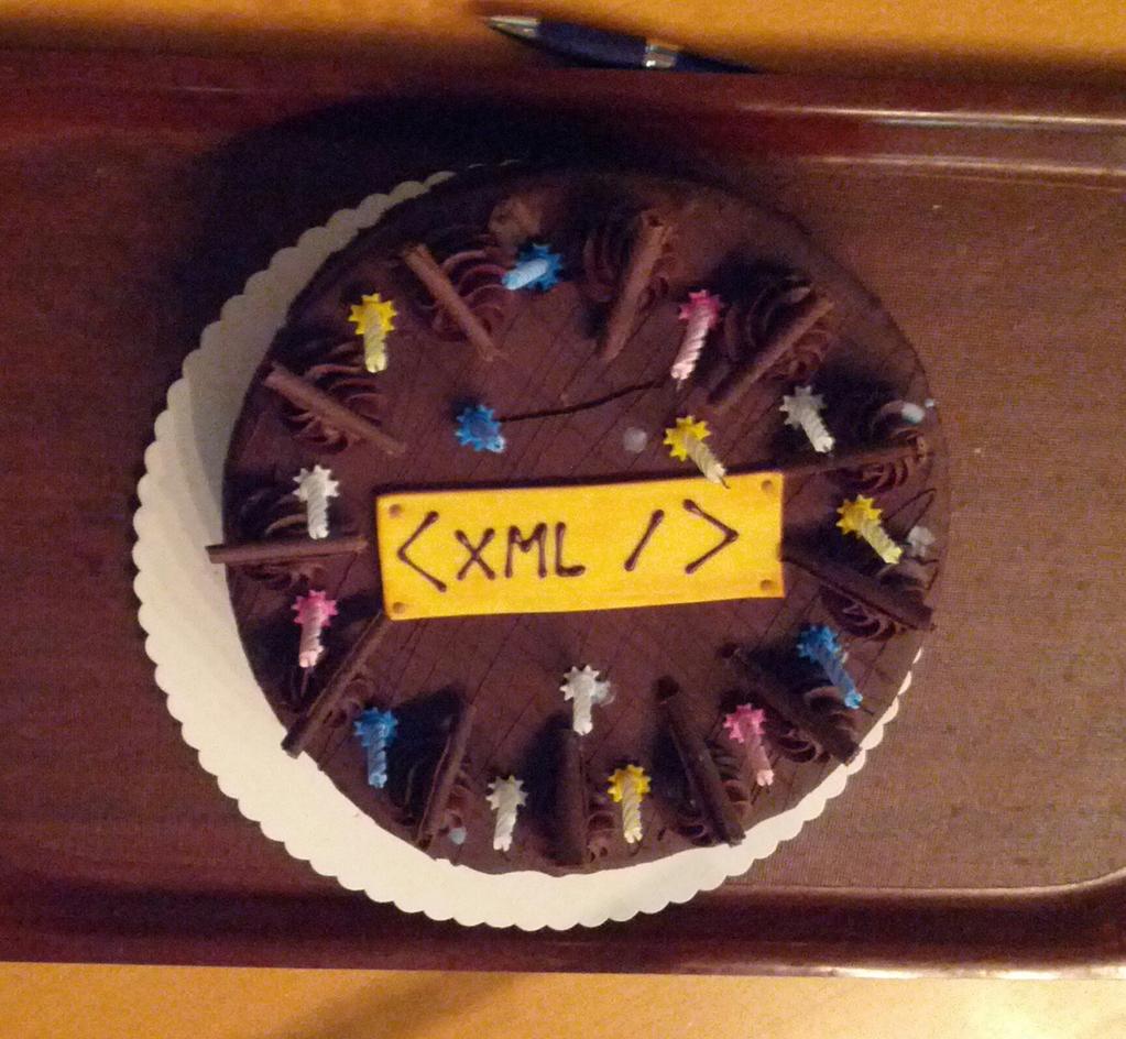 Happy birthday XML