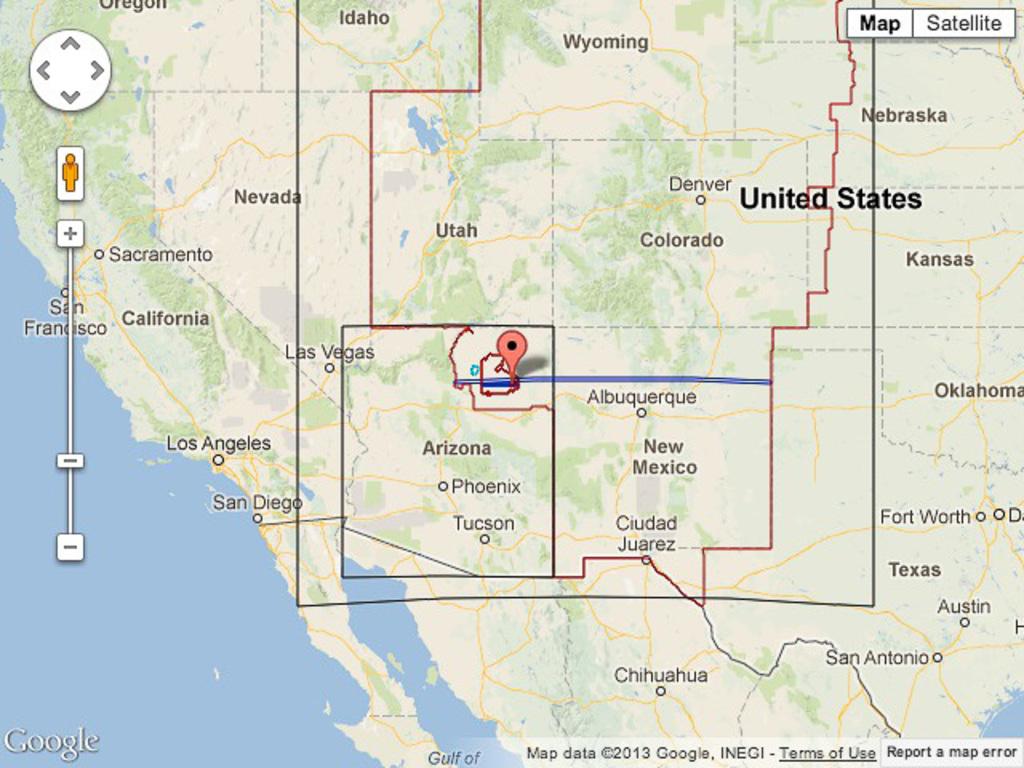 North eastern Arizona