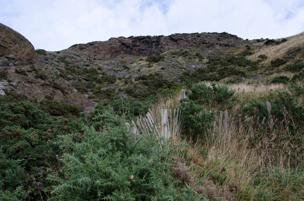 Up and over Arthur's Seat