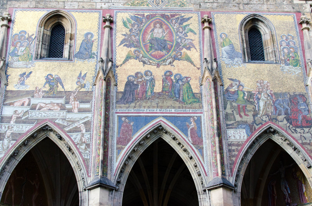 St. Vitus Cathedral mosaic