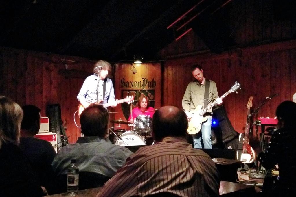David Grissom at the Saxon Pub