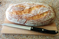 Chris's bread: YUM!