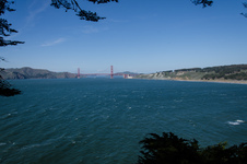 Golden Gate from Land's End