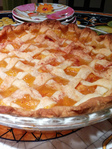 Another peach pie!