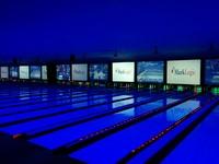 Blue bowling
