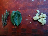 Thyme, Bay, and Garlic