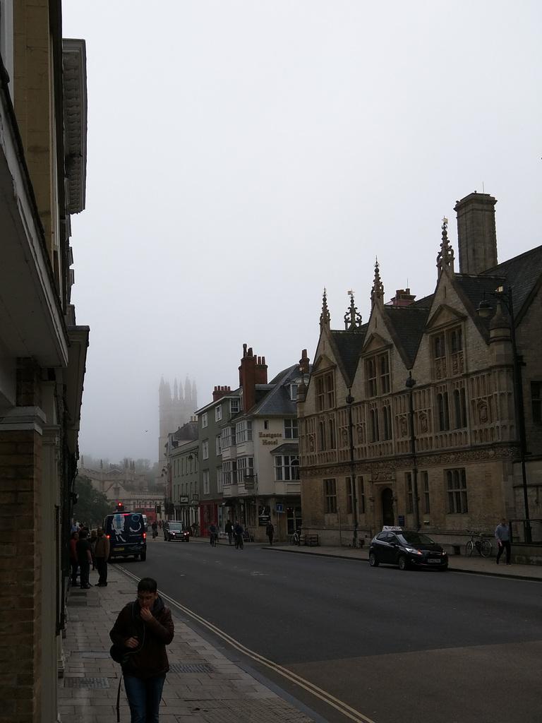 Foggy Oxford
