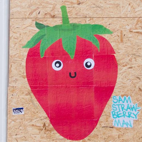 Sam Strawberry Man