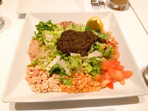 Fermented Tea Salad