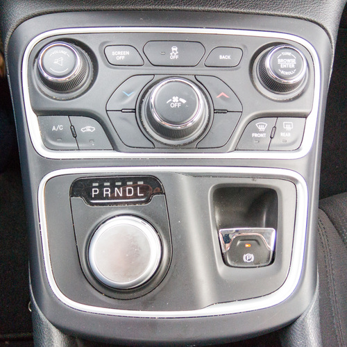 Automotive console