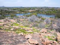 Hiking at Inks Lake State Park