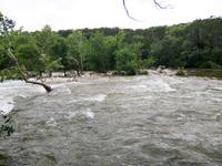 Barton Creek after the rain