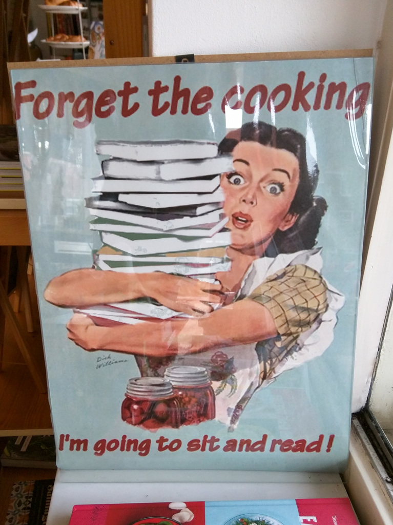Forget the cooking...