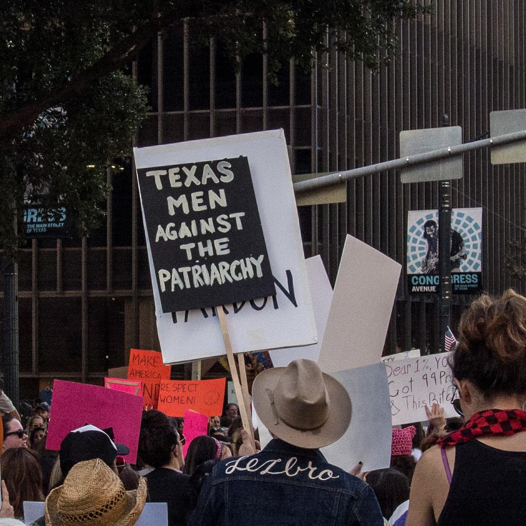 Texas men against the patriarchy