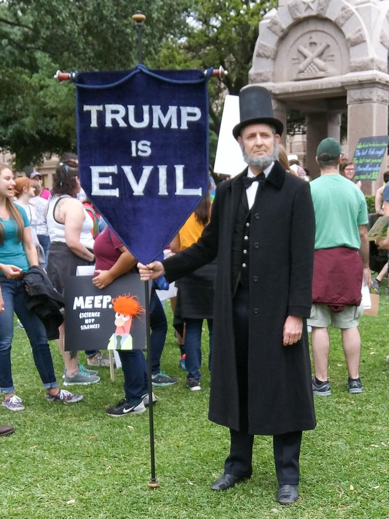 Tell it like it is, Abe