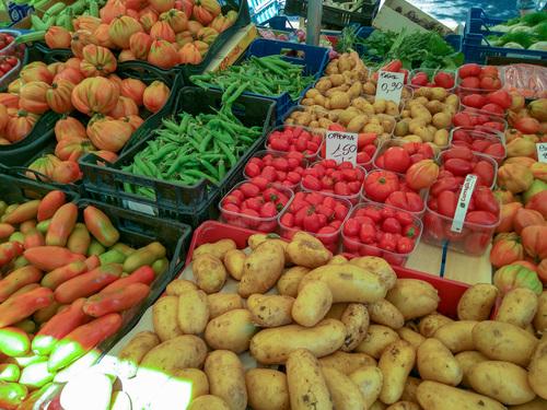 Chiusi market