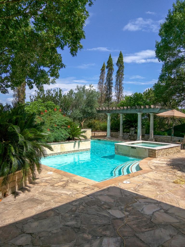 Italianate pool
