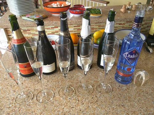 French 75 experiments