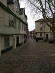 Cobbled street in Norwich