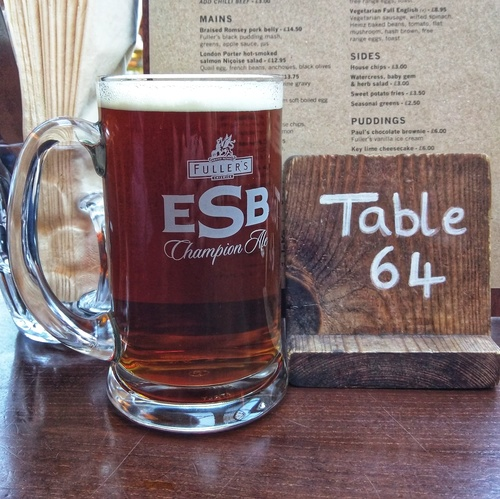 Fuller's ESB at The Mad Bishop and Bear