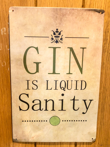 Gin is liquid sanity