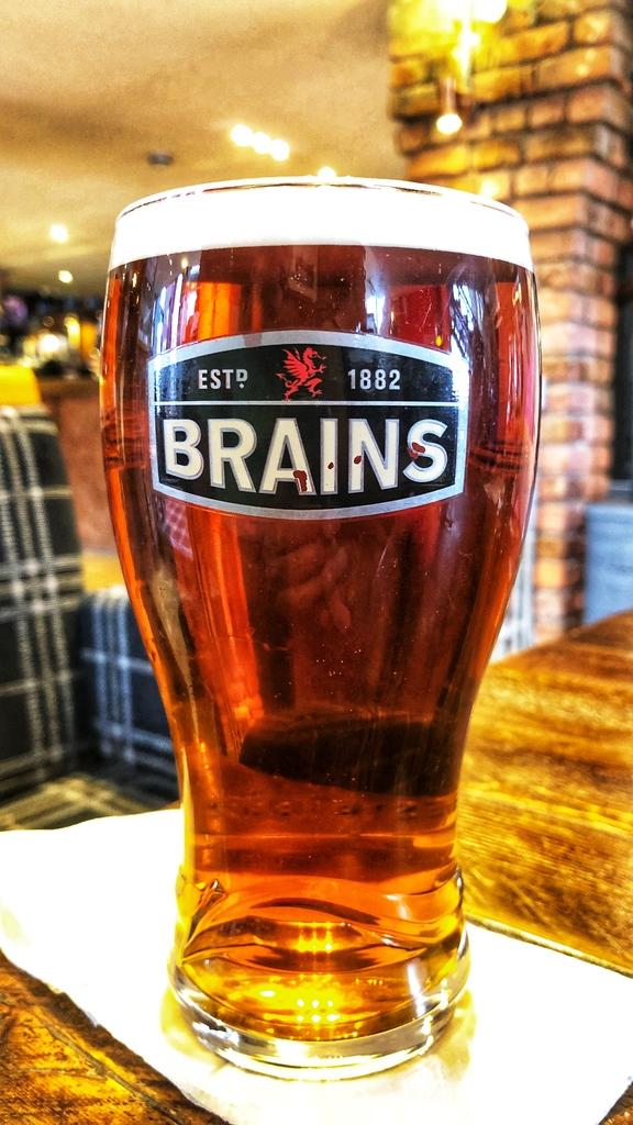 Brains ale