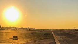 LAX takeoff