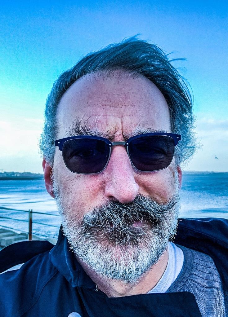 Mutton Island selfie