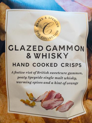 Glazed gammon & whisky