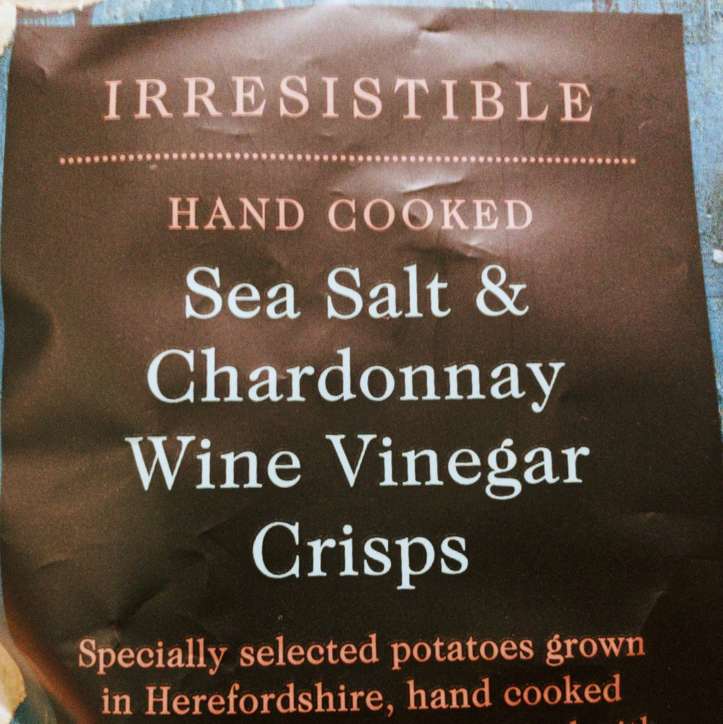 Sea salt & Chardonnay wine vinegar crisps