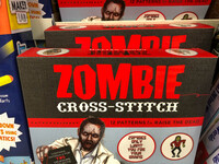 Zombie cross-stitch