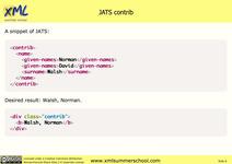 HTML Output