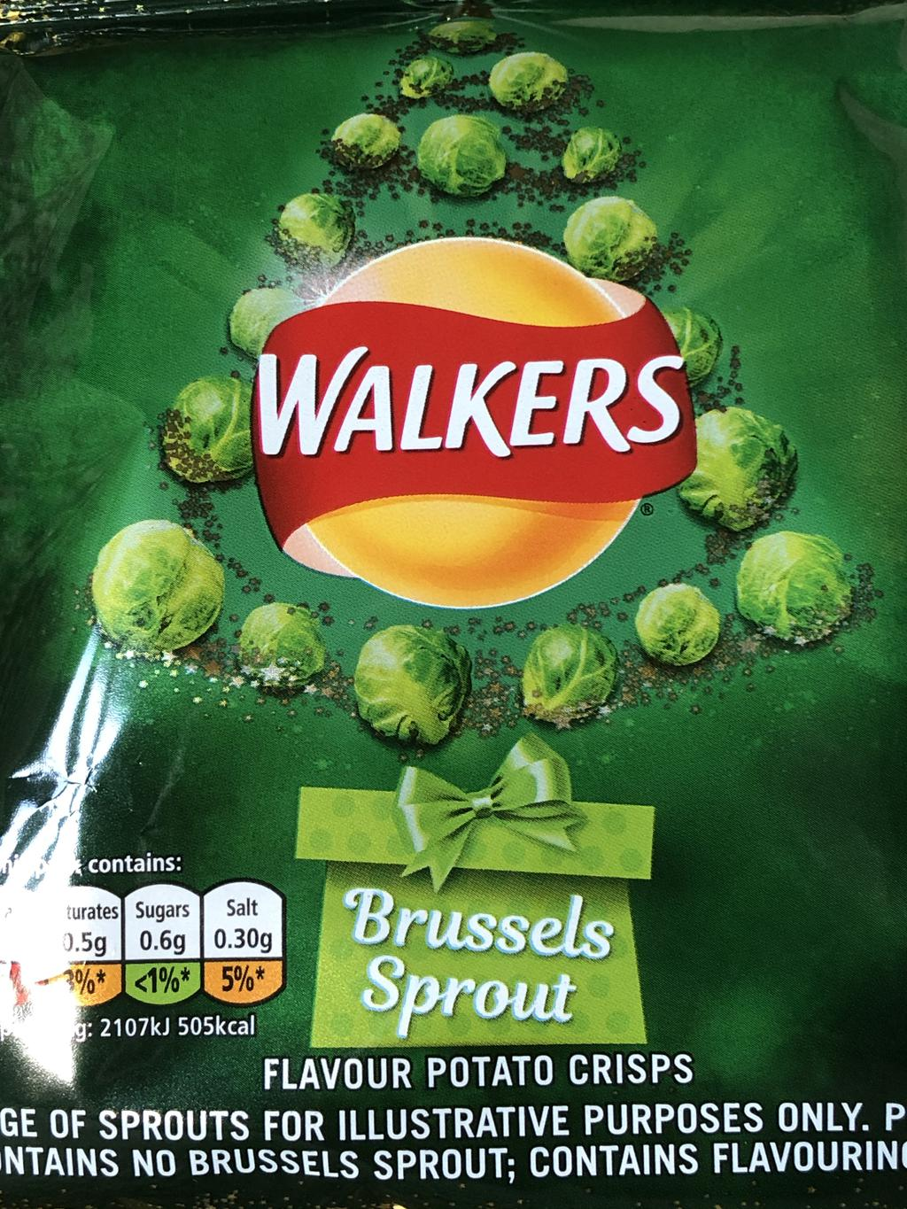 Brussels Sprout crisps