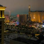 Misty Vegas evening