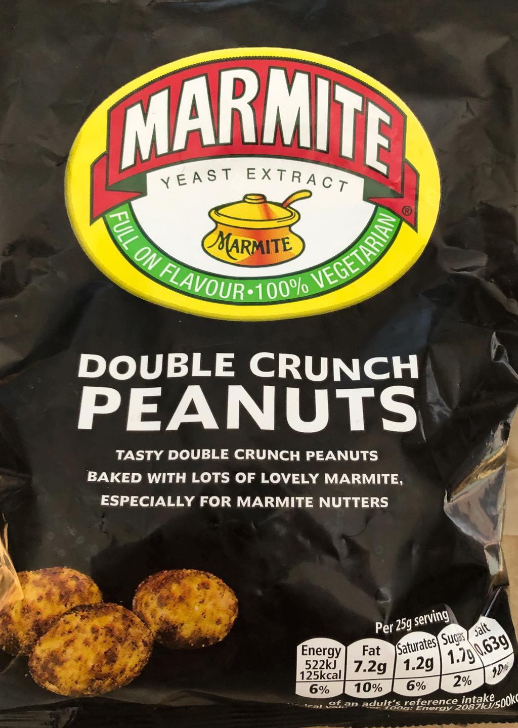 Double crunch peanuts