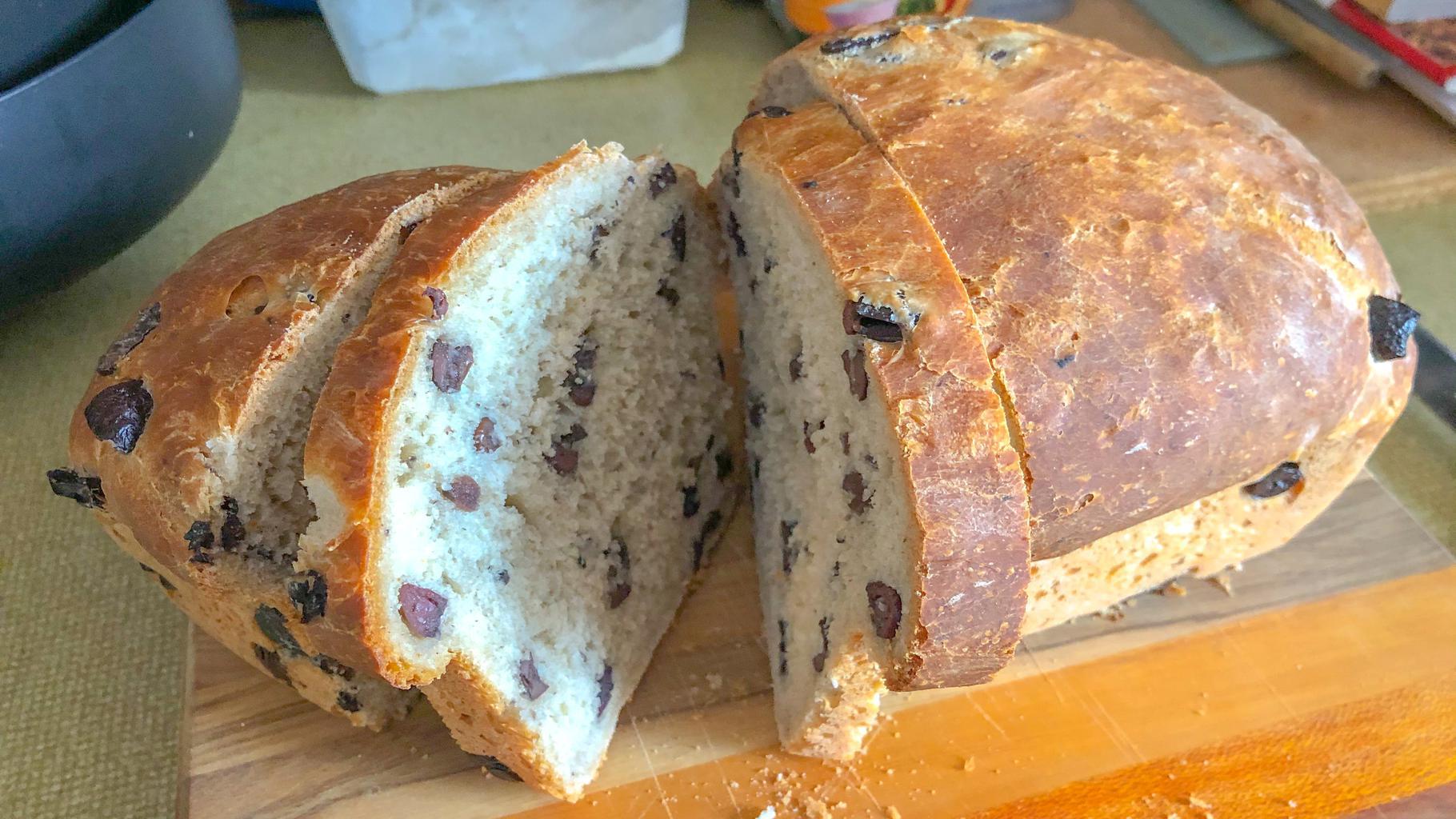 Olive loafed